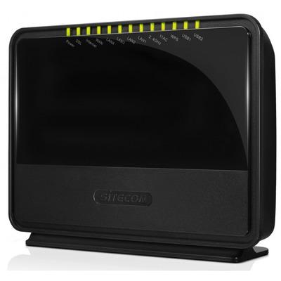 WLM-7600 AC1600 Wi-Fi Dual-band Gigabit Modem Router incl. 2x USB 2.0 Ports