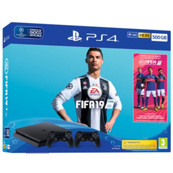 Sony - PS4 500GB F + FIFA19 + DS4 9752813