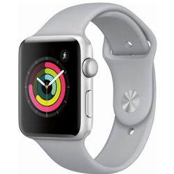 Apple - APPLEWATCH 3 42MM GPS MTF22QL/A silver-bianco