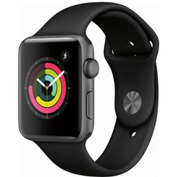 Apple - APPLEWATCH 3 42MM GPS MTF32QL/A nero