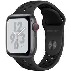 Apple - APPLE WATCH 4 40MM NIKE+ GPS + CELLULAR MTXG2TY/A grigio