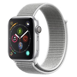 Apple - APPLE WATCH 4 44MM GPS ALLUMINIO LOOP MU6C2TY/A silver-bianco