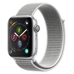 Apple - APPLE WATCH 4 44MM GPS ALLUMINIO LOOP MU6C2TY/A silver-bianco