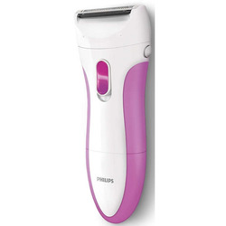 Philips - SATIN SHAVE ESSENTIAL HP6341/00 bianco-viola