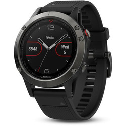 Garmin - FENIX 5 GLASS 010-01688-03 nero-silver