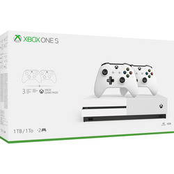 Microsoft - XBOX ONE S 1TB + 2 CONTROLLER 23400605
