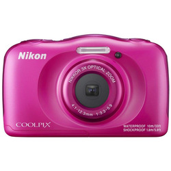 Nikon - COOLPIX W100 rosa