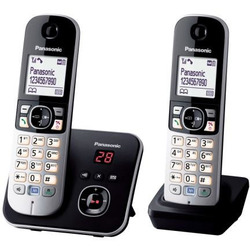 Panasonic - KX-TG6822JTB nero
