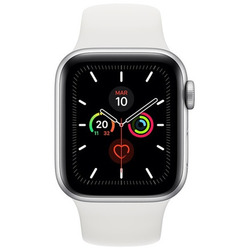 Apple - WATCH SERIE 5 GPS + CELLULAR 44MM MWWC2TY/A silver-bianco