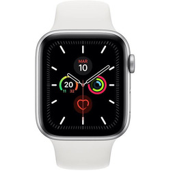 Apple - WATCH SERIE 5 GPS 44MM MWVD2TY/A silver-bianco