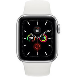 Apple - WATCH SERIE 5 GPS + CELLULAR 40MM MWX12TY/A silver-bianco