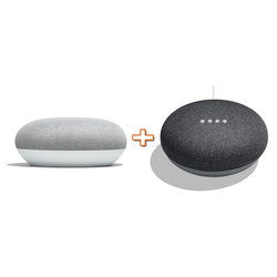 GOOGLE - HOMEMINI GA00210-IT bianco  + HOMEMINI GA00210-IT nero