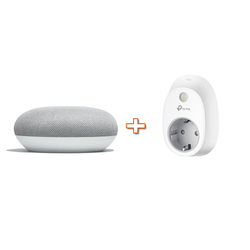 GOOGLE - HOMEMINI GA00210-IT bianco + PRESA SMART HS100