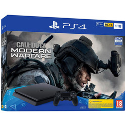 Sony - PS4 1TB F + CALL OF DUTY: MODERN WARFARE 9323006