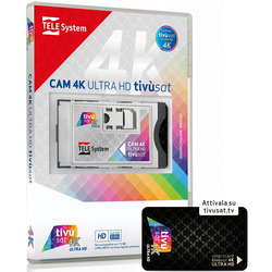 TELE System - CAM 4K TIVU'SAT 58040115