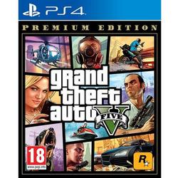 TAKETWO - PS4 GTA V PREMIUM ONLINE EDITION