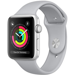 Apple - WATCH S3 42MM MQL02QL/A silver