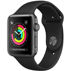 Apple - WATCH S3 42MMMQL12QL/A grigio-nero