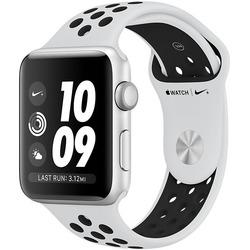 Apple - WATCH NIKE+ 42MM MQL32QL/A silver