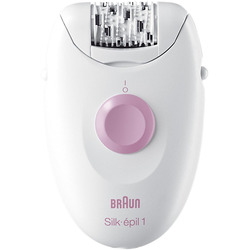 Braun - SILK-EPIL 1 EVERSOFT 1370 bianco-rosa