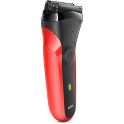 Braun - 300SERIE3 nero-rosso