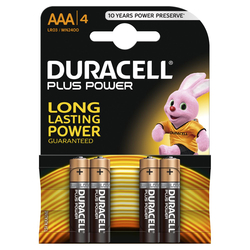 DURACELL - DURACELL PLUS POWER AAA MINISTILO