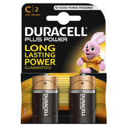 DURACELL - DURACELL PLUS POWER MEZZA