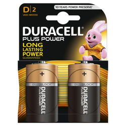 DURACELL - DURACELL PLUS POWER D TORCIA