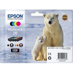 Epson - 26 MPK ORSO POLARE STANDARD 4 COLORI N,C,M,Y
