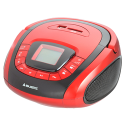Majestic - AH-241 BT MP3 USB SD rosso