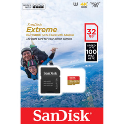MICROSD EXTREME 32GB A1 PER ACTION CAM