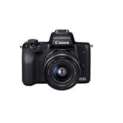 Canon - EOS M50 BLACK + EF-M 15-45 MM TRAVEL KIT