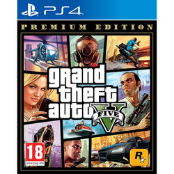 TAKETWO - PS4 GTA V PREMIUM ONLINE EDITION