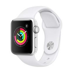 Apple - APPLE WATCH 3 38MM GPS silver-bianco