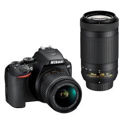Nikon - D3500 + AF-P 18-55 VR+70-300 AF-P VR