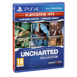 Sony - UNCHARTED NATHAN DRAKE COLLECTION (PS4) PS HITS