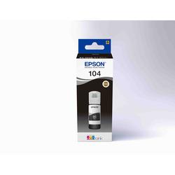 Epson - 104  FLACONE DI INCHIOSTRO ECOTANK T00P1 NERO