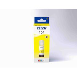 Epson - 104  FLACONE DI INCHIOSTRO ECOTANK T00P4 GIALLO