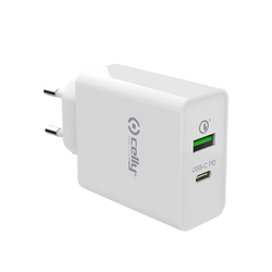 Celly - TCUSBC18WWH - TC USB-C PWR DELIVERY 18W