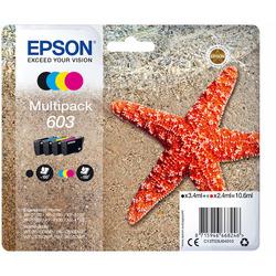 Epson - 603 STELLA MARINA T03U STANDARD MULTIPACK 4 COLORI