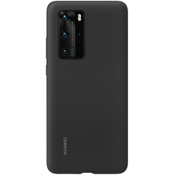Huawei - P40 SILICONE CASE BLACK