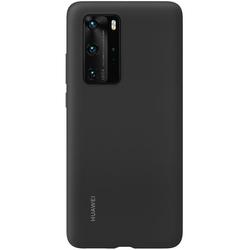 Huawei - P40 SILICONE CASE BLACK