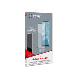 Celly - FULLGLASS922BK - FULL GLASS GALAXY NOTE 20 BLACK