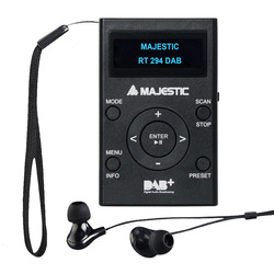 Majestic - RT 294 MP3 DAB nero