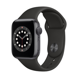 Apple - WATCH 6 GPS 40MM MG133TY/A nero-grigio
