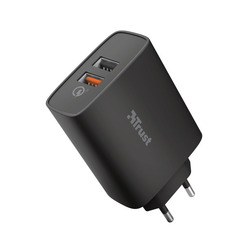 Trust - QMAX USB A+A WALL CHARGER QC3 30W