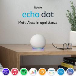 ECHO - ECHO DOT 4^ GENERAZIONE BIANCO