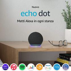 ECHO - ECHO DOT 4^ GENERAZIONE NERO