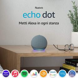 Amazon - ECHO DOT 4^ GENERAZIONE BLU-GRIGIO