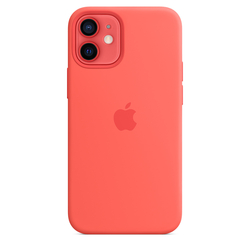 Custodia MagSafe in silicone per iPhone 12 mini
